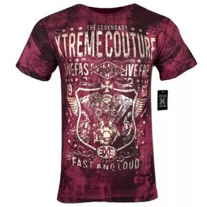 XTREME COUTURE byAFFLICTION Men GREASE & GASOLINE